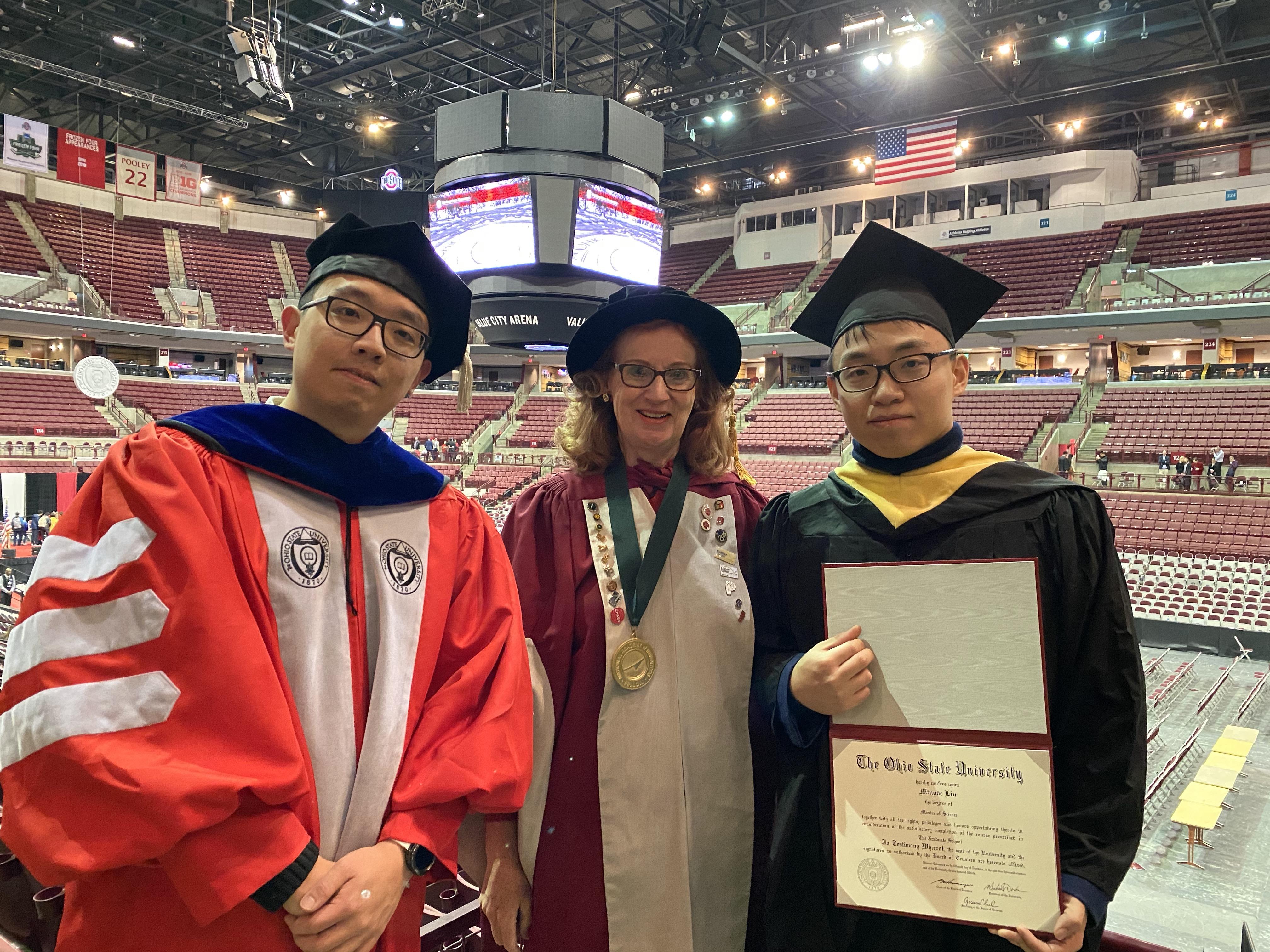 Tony Ren and Mingde Liu- Graduation (2019)