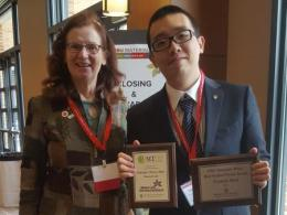 Dr. Katrina Cornish and Tony Ren